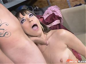 Dana DeArmond gets her uber-sexy cock-squeezing gash ate and toyed with