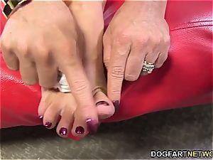 Janet Mason big black cock sole Fetish