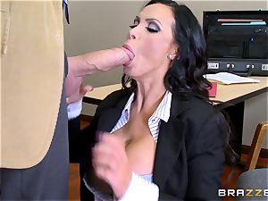 red-hot lawyer Nikki Benz getting humped by a phat sausage