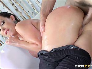 Nikki Benz rectally pulverized deep by Charles Dera