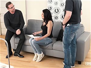 uncovered audition - splooging Serbian in molten casting