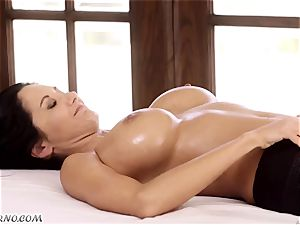 Ava Addams and Cherie Deville - massive funbag cougar all girl