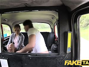 fake cab adorable puny teenager gets free ride
