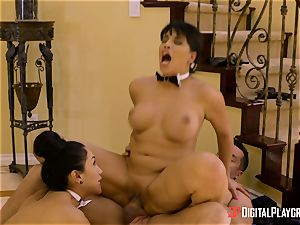 pipe sharing Vicki pursue and Mercedes Carrera