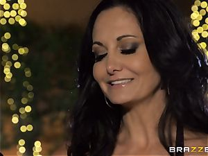 Ava Addams gets a cramming from the pool dude