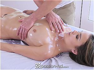 Passion-HD - Dillion Harper wet rubdown with facial