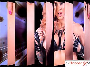The StripperExperience- Sarah Jessie fucking a immense pink cigar