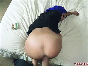 Arab enslaved woman Apolonia Lapiedra gets money for muddy fuck-fest